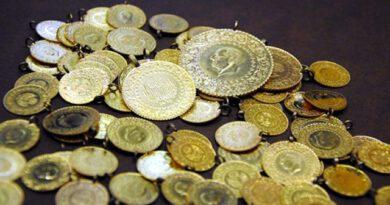 Altının gram fiyatı 393,6 lirayla tarihi rekorunu tazeledi