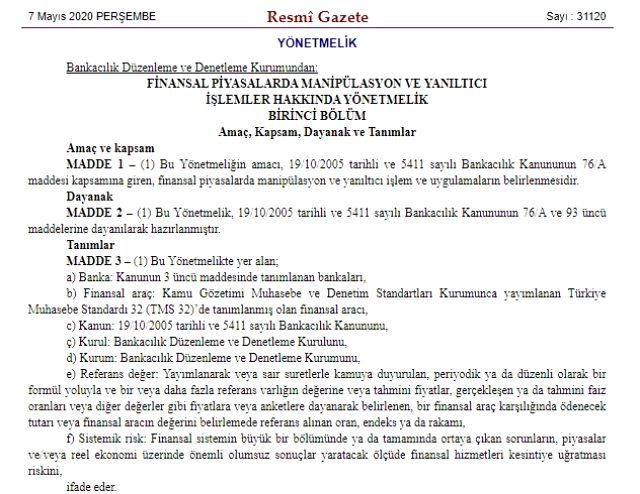 BDDK'dan manipülasyon ve yanıltıcı işlemler hakkında yeni yönetmelik: Döviz manipülatörlerine ceza kesilecek