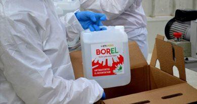 Yerli Dezenfektan BOREL'in Litrelik Boyları Satışa Sunuldu