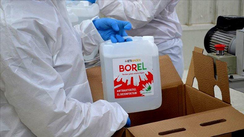 Yerli Dezenfektan BOREL'in Litrelik Boyları Satışa Sunuldu Teknoloji