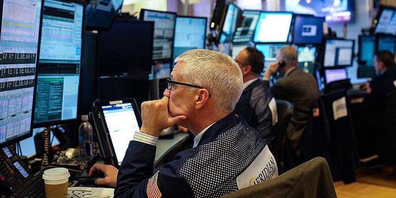 New York borsası düşüşle kapandı Ekonomi