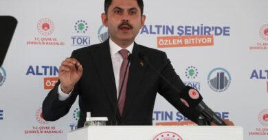 Son dakika... Bakan Kurum, Ankara'da 451 konutun temelini attı