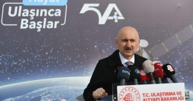 Bakan Karaismailoğlu: Türksat 5A ve 5B uydularının frekans bantları yer istasyonları kurulumunda son aşamadayız Ekonomi